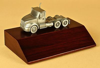 Semi Truck model truckers gifts truck driver award million mile safety trophy