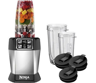 New Nutri Ninja Blender 1000 Watt Pulse Technology with Auto-iQ