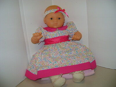 """Handmade Dress Outfit for all 20"""" - 22"""" Baby Dolls and Reborn Dolls"""