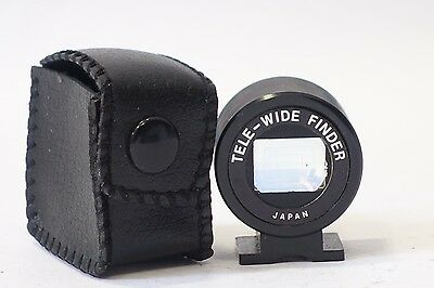 Tele-Wider Finder, Viewfinder fits accessory shoe fits Yashica GTN etc