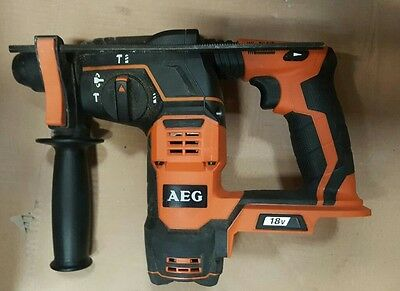 AEG BBH18 18v sds hammer drill *BODY ONLY * USED