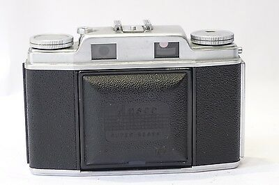 Ansco Super Regent 35mm Rangefinder camera & 50mm 1:3.5 Agfa Solinar lens