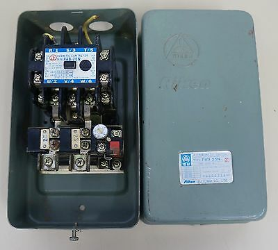 Riken Ac Magnetic Contactor Switch Rab-25N With Box