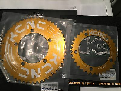 KCNC Blade compact 50/34 110bcd aero lightweight alloy road chainrings