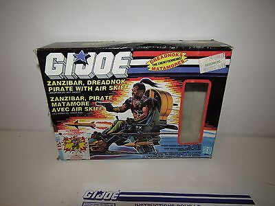 1987 Zanzibar w/Air Skiff Vintage GI Joe Vehicle 100% Complete Box Canadien!