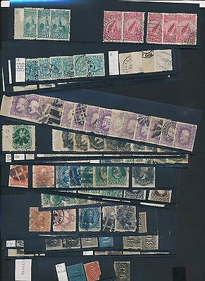 3701) Brazil, Small Box With Over Then 500! Stamps, Classic 80%