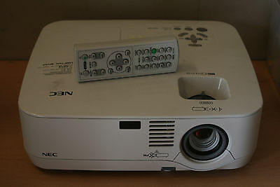 NEC NP310G LCD Projector 59% Lamp Life Left