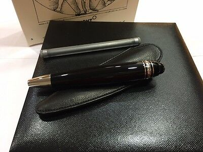 Montblanc Leonardo Sketch Pen Platinum Line #108963 - New In Box