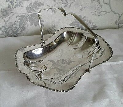 A Lovely Vintage Silver Plated Handled Bowl