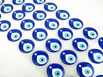 Big Evil Eye Sticker Adhesive Protection Talisman Nazar Decoration DIY Handcraft