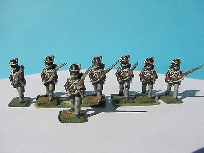 Napoleonic War Waterloo Lead Painted 28 Mm Soldier British English Red Coats 4