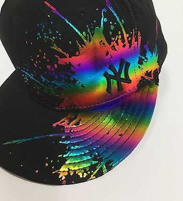 Cappello NY 59 fifty new era genuine cap merchandise usato nero uomo hot disco