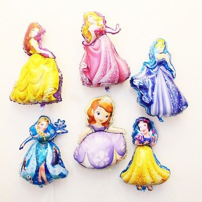 Pretty Dancing Girl Princess Foil Balloon F Girls Birthday Prom Party WallDecor
