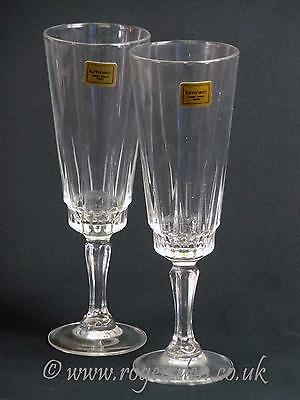 Luminarc  French Crystal Glass A Pair of Champagne Flutes