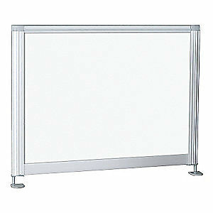 BEST-RITE Desktop Privacy Panels,21-1/2 In, 90134, White