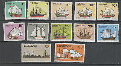 Singapore, Ships All Different Sg Numbers Mnh