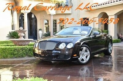 2008 Bentley Continental GT GTC Convertible 2-Door 2008 Bentley Continental GT 2dr Conv