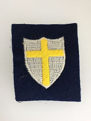 WWII Britain/British 8th Army cloth sleeve formation patch