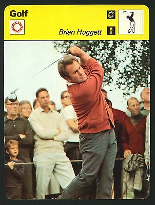 Editions Rencontre - Sportscaster Cards - Golf - Brian Huggett