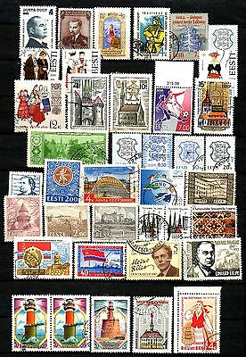 Estonia  Small Lot # 11 . Stamps - Used