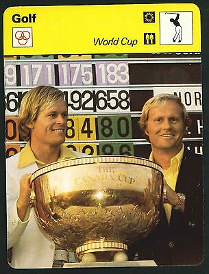 Editions Rencontre - Sportscaster Cards - Golf - World Cup (Formerly Canada Cup)