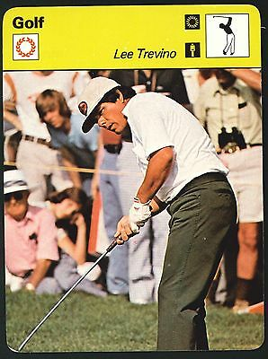 Editions Rencontre - Sportscaster Cards - Golf - Lee Trevino