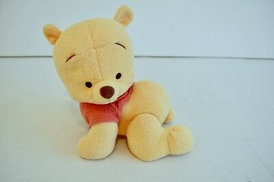 Fisher Price Vintage 2003 Musical Crawling Winnie The Pooh Soft Toy