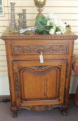 Antique European Style / French Food Pantry / Cupboard,