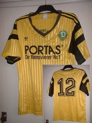 Dynamo Dresden Adidas Adult Large Football Soccer Shirt Jersey Vintage Trikot