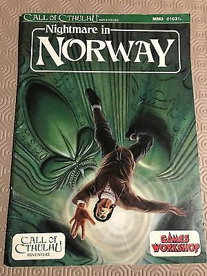 Nightmare In Norway For Call Of Cthulhu Games Workshop