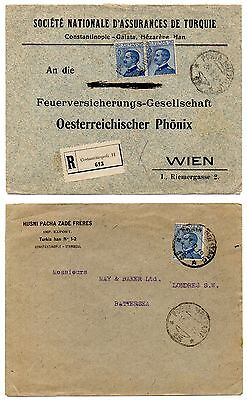 Italy 3 x 1920's Covers with Slogan Advertising
