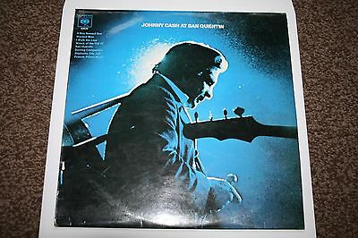 Johnny Cash At San Quentin Vinyl LP  1st press Excellent condition (play tested)