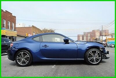 2015 Scion FR-S FR-S FRS BRZ Automatic Repairable Rebuildable Salvage Wrecked Runs Drives EZ Project Needs Fix Save Big
