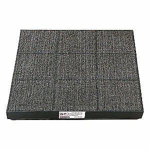 AIR SCIENCE Filter,Carbon,9 in. x 1-1/2 in. x 19 in., GP FILTER