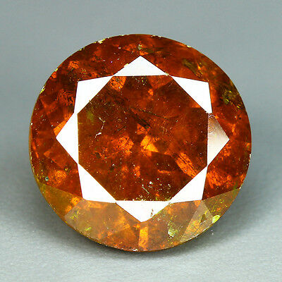 9.08 Cts-Breathtaking Fire - Sun Set Reddish Orange - 100 % Natural Sphalerite