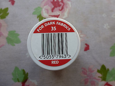 DYLON FABRIC PAINT-red for dark fabrics00