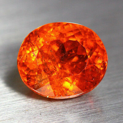 5.89 Cts_Unbelievable Rare To Find_100 % Natural Spessartite Garnet_Srilanka