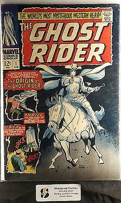 The Ghost Rider #1 (Western) 1967 Origin and 1st appearance of new Ghost Rider