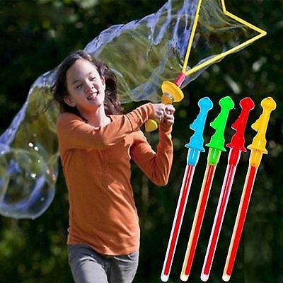 Summer Outdoor Toys Water Blowing Bubbles Guns With Concentrated Soap Liquid New