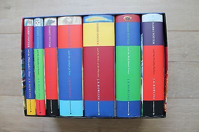Out of Print - Harry Potter Hardcover Series UK Children's Edition, Bloomsbury