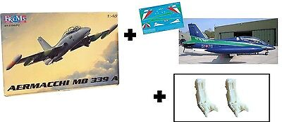 """Decal MB 339A Scala 1:48 """"Boxer"""" + Kit Frems + Ejection Seats Resina"""