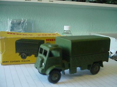 dinky military army ql covered truck and box orignal