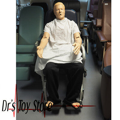 Laerdal Patient Kelly Adult Medical Trauma Training Manikin Or Potential Wingman