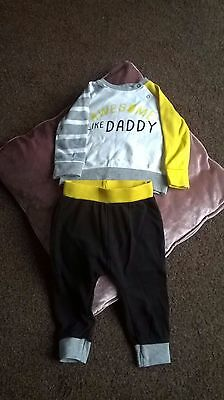 New Baby Boys Tracksuit,  Ladybird Age 6/9 Months.