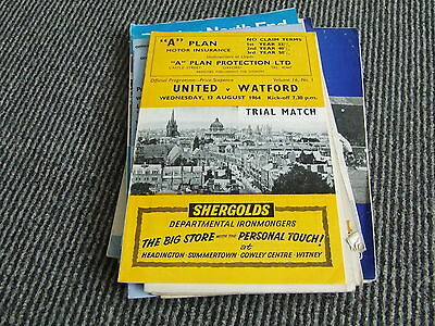 Oxford United V Watford 1964 Trial Match