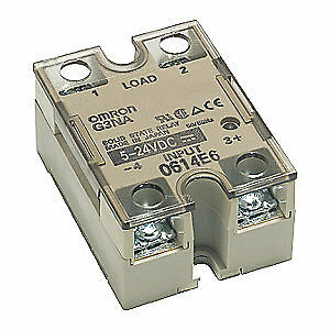 OMRON Solid State Relay,5 to 32VDC,40A, G3NA440B2DC524