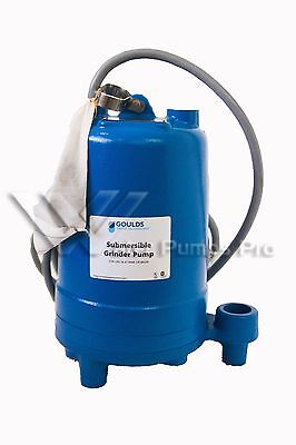 RGS2012 Waste Water Submersible Grinder Pump 2 HP 208/230V Single Phase