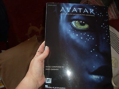 piano solo music book from 'avatar' the motion picture