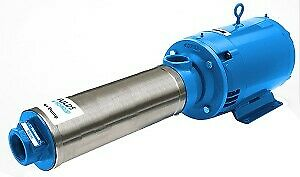 45HB15035 Goulds High Pressure Centrifugal Booster Pump 5HP 3Ph 5 Stages