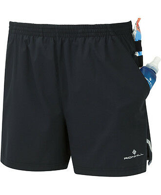 RONHILL CARGO Sports Running SHORTS Mens STRIDE w Gel Loops & Side Pockets